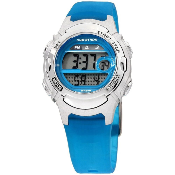 Timex Women's TW5K96900 Marathon Blue Resin Watch