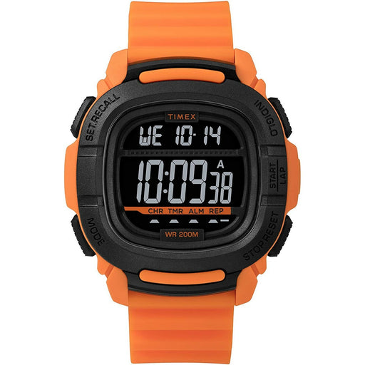 Timex Men's TW5M26500JV Command  Orange Silicone Watch