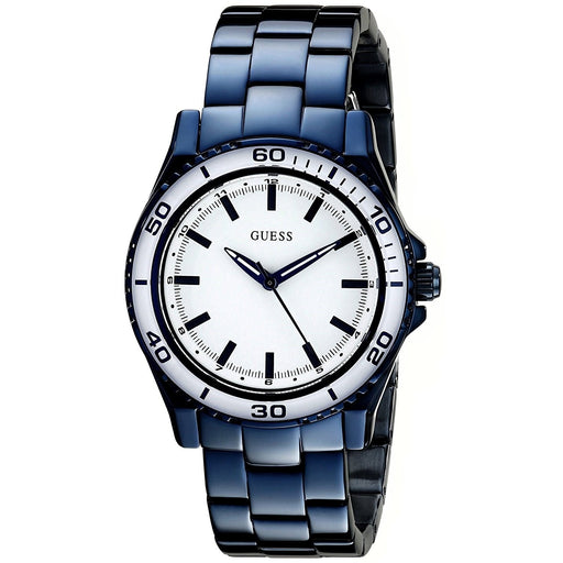 Guess Women's U0557L3 Blue Stainless Steel Watch