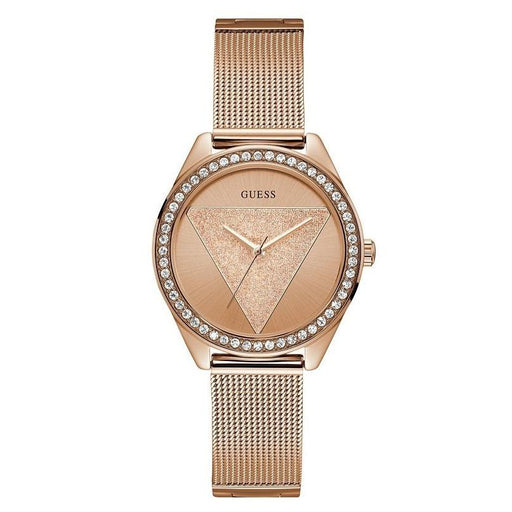 Guess Women's U1142L4 Casual Rose-Tone Stainless Steel Watch