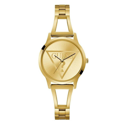 Guess Women's U1145L3 Casual Gold-Tone Stainless Steel Watch
