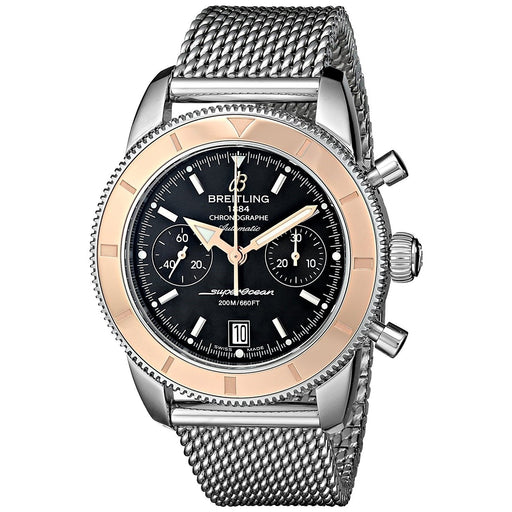 Breitling Men's U2337012-BB81 Superocean Heritage 44  18 Kt Rose Gold Chronograph Automatic Stainless Steel Watch