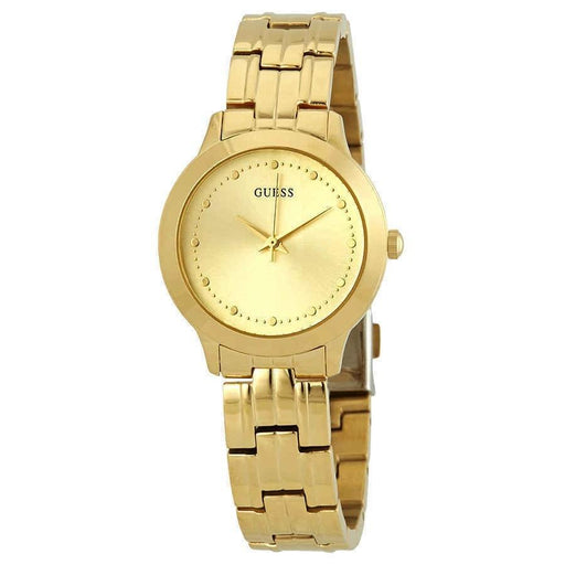 Guess Women's W0989L2 Chelsea Gold-Tone Stainless Steel Watch