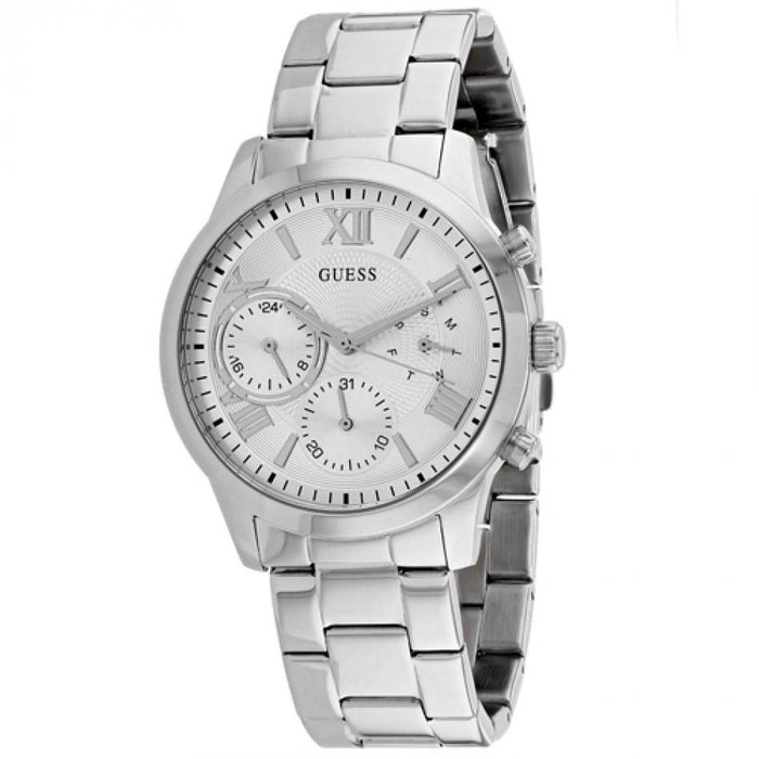 Guess Men's W1070l1 Solar Stainless Steel Watch