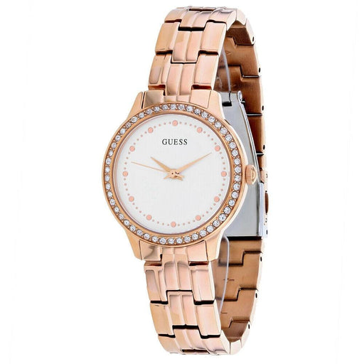 Guess Women's W1209L3 Chelsea Rose Gold-Tone Stainless Steel Watch