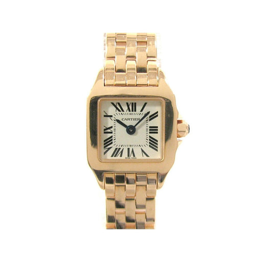 Cartier Women's W25077X9 Santos Rose Gold-Tone Stainless Steel Watch