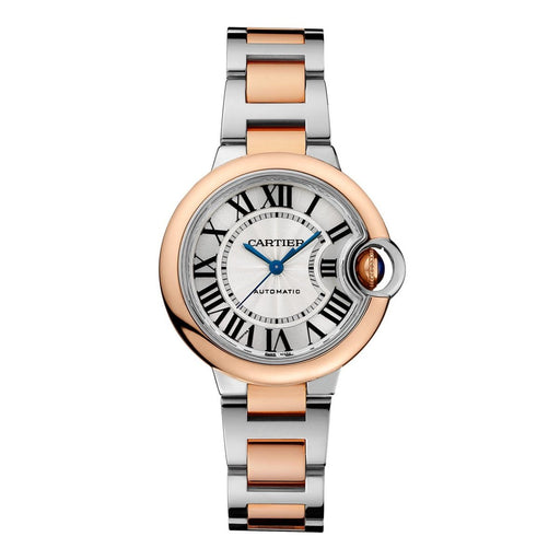 Cartier Women's W2BB0023 Ballon Bleu De Cartier Two-Tone 18K Rose Gold-Tone and Stainless Steel Watch
