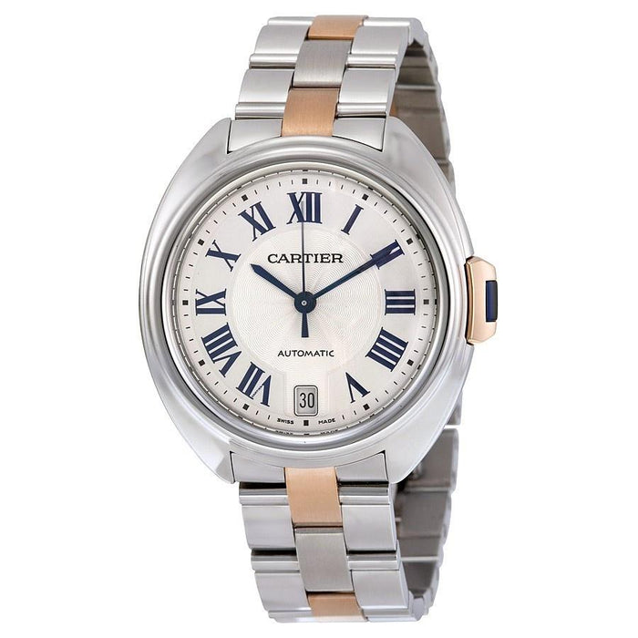 Cartier Women's W2CL0003 Cle 18kt Rose Gold Automatic Two-Tone Stainless Steel Watch