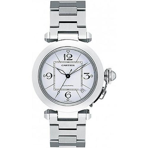Cartier Men's W31074M7 Pasha de Cartier Stainless Steel Watch