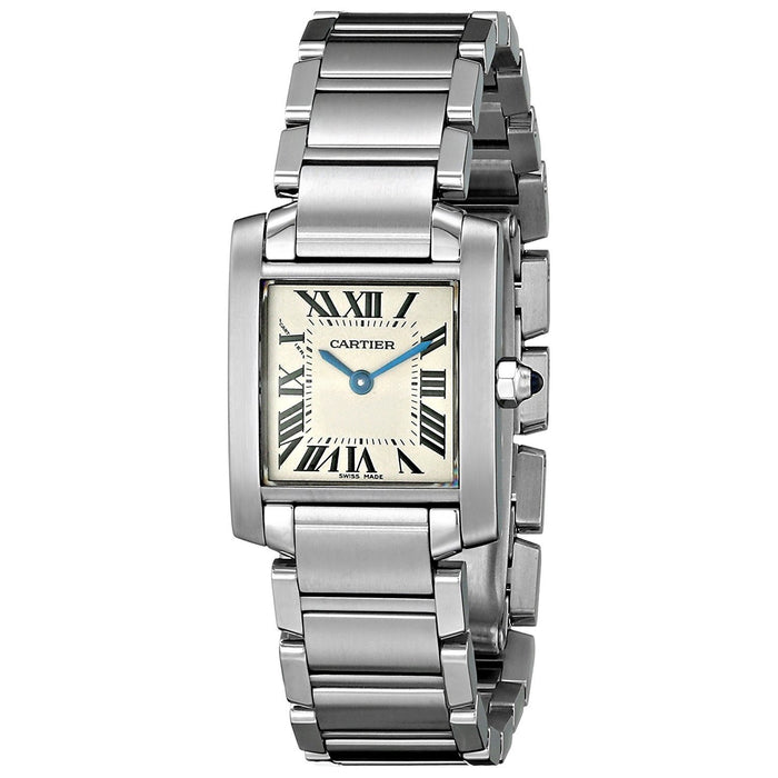 Cartier Women's W51008Q3 Tank Stainless Steel Watch
