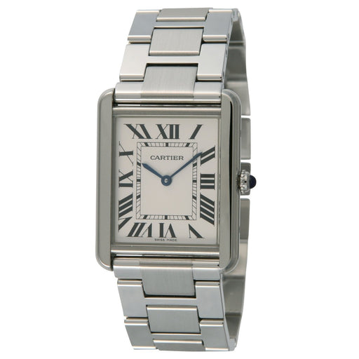 Cartier Men's W5200014 Tank Solo Stainless Steel Watch