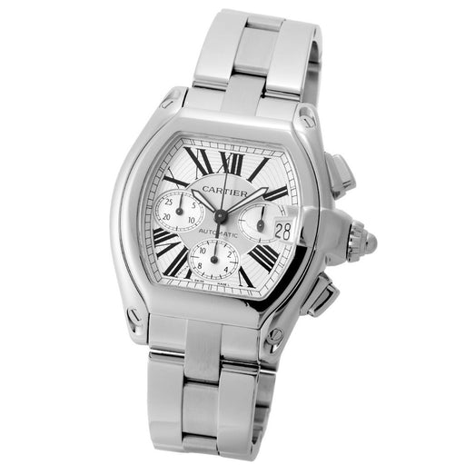 Cartier Men's W62019X6 Roadster Chronograph Automatic Stainless Steel Watch