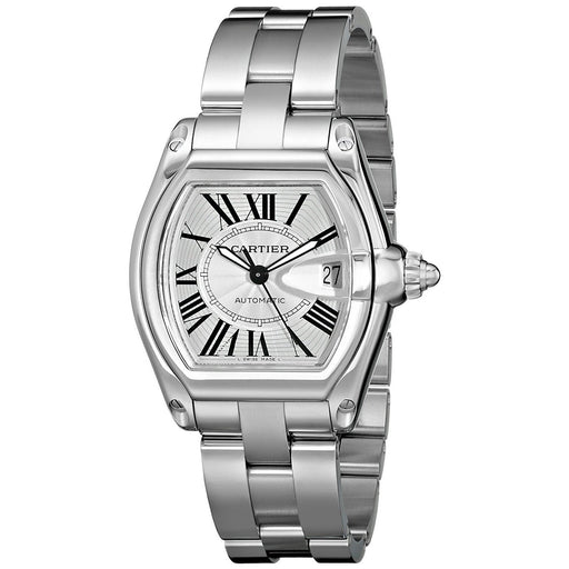 Cartier Men's W62025V3 Roaster Stainless Steel Watch