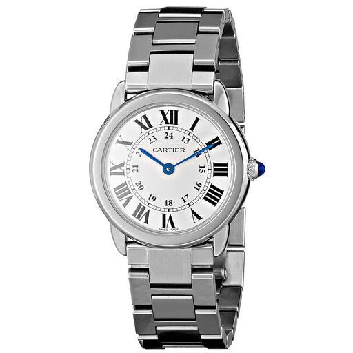 Cartier Women's W6701004 Rondo Solo Stainless Steel Watch