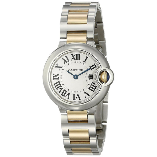Cartier Women's W69007Z3 Ballon Bleu 18k Gold Two-Tone Stainless Steel Watch
