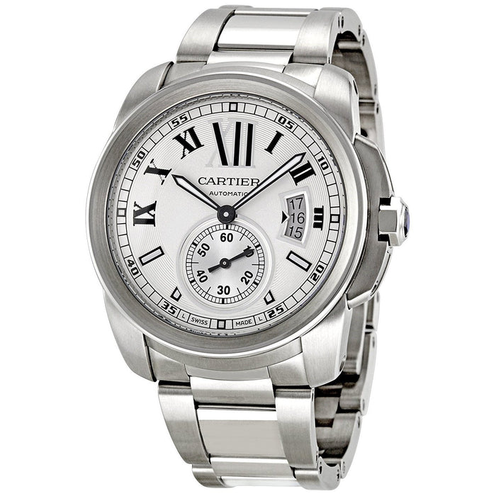 Cartier Men's W7100015 Calibre Automatic Stainless Steel Watch