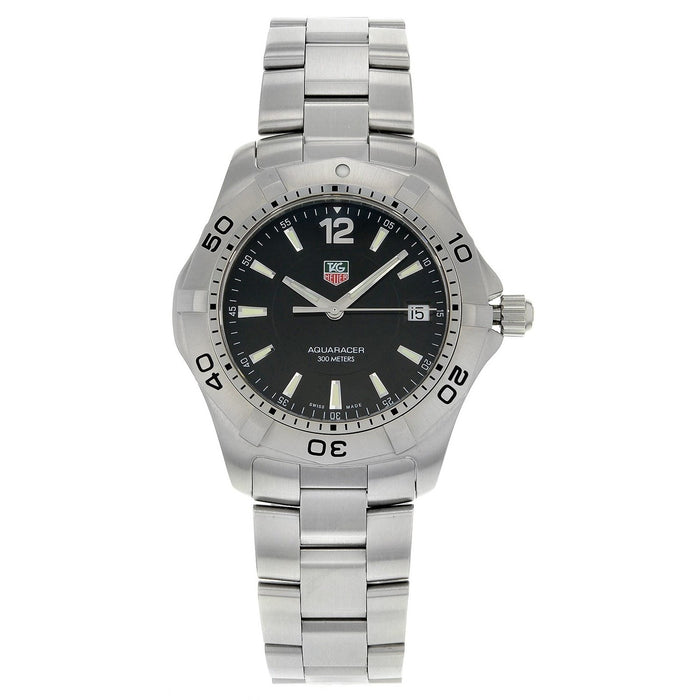 Tag Heuer Men's WAF1110.BA0800 Aquaracer Stainless Steel Watch