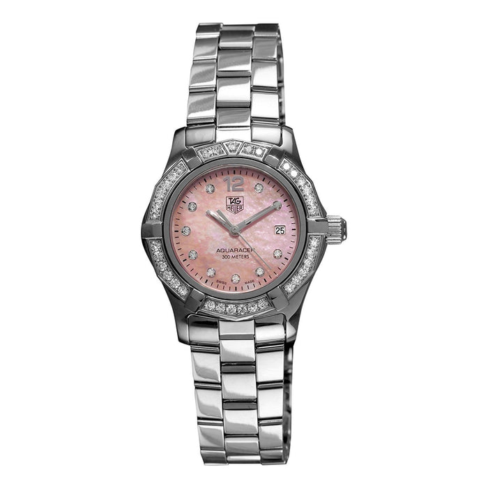 Tag Heuer Women's WAF141B.BA0824 Aquaracer Stainless Steel Watch