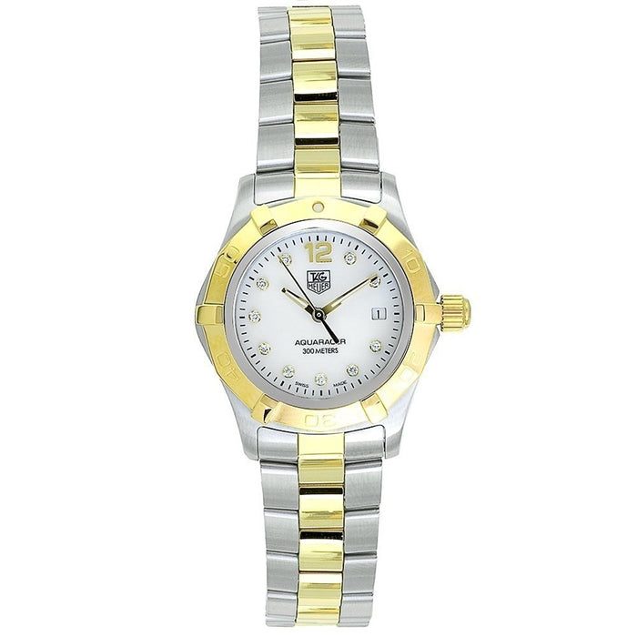 Tag Heuer Women's WAF1425.BB0814 Aquaracer Diamond Two-Tone Stainless Steel Watch