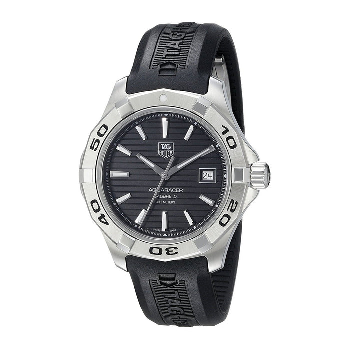 Tag Heuer Men's WAP2010.FT6027 Aquaracer Automatic Black Rubber Watch