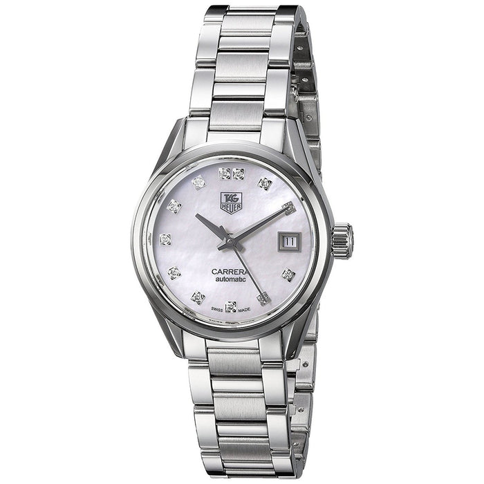Tag Heuer Women's WAR2414.BA0776 Carrera Diamond Automatic Stainless Steel Watch