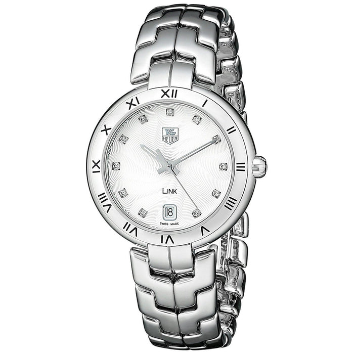 Tag Heuer Women's WAT1311.BA0956 Link Diamond Stainless Steel Watch
