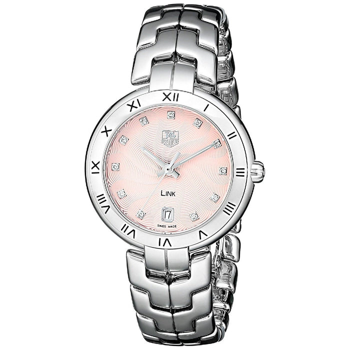 Tag Heuer Women's WAT1313.BA0956 Link Diamond Stainless Steel Watch