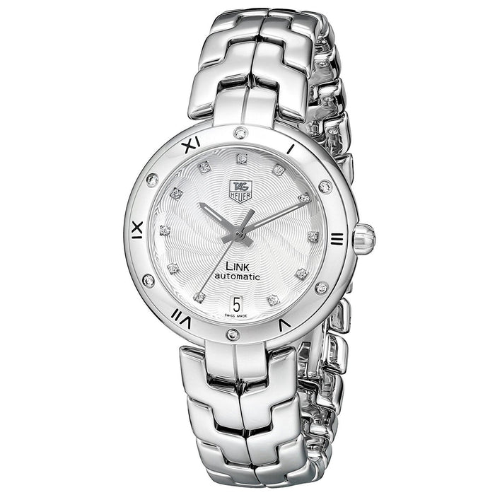Tag Heuer Women's WAT2312.BA0956 Link Diamond Automatic Stainless Steel Watch
