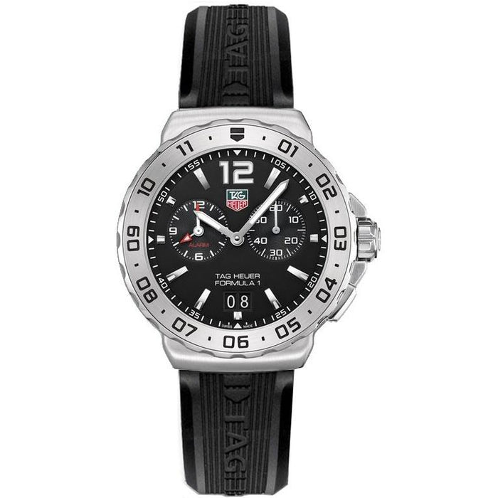 Tag Heuer Men's WAU111A.FT6024 Formula 1 Chronograph Black Stainless Steel Watch
