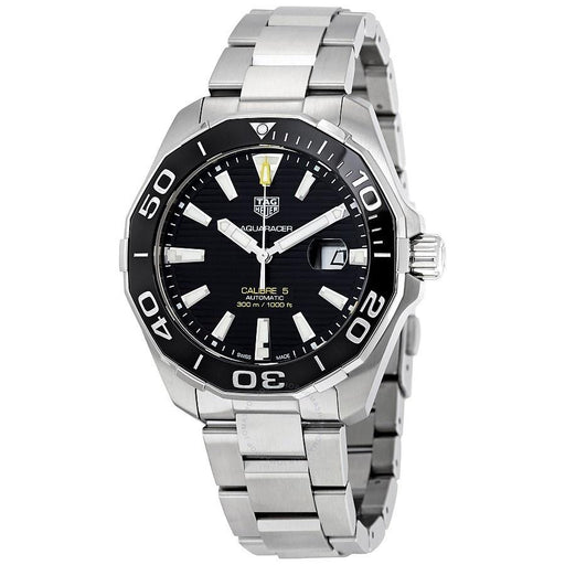 Tag Heuer Men's WAY201A.BA0927 Aquaracer Automatic Stainless Steel Watch