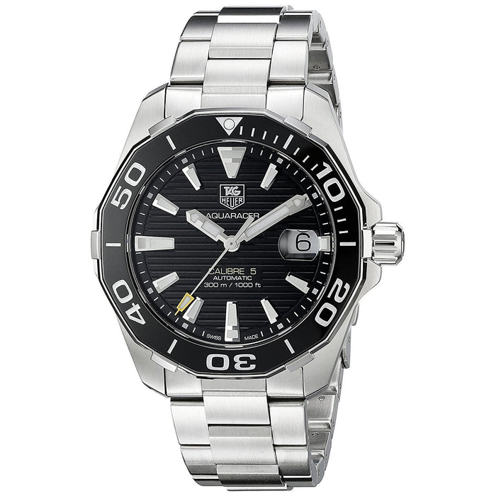 Tag Heuer Men's WAY211A.BA0928 Aquaracer Automatic Stainless Steel Watch
