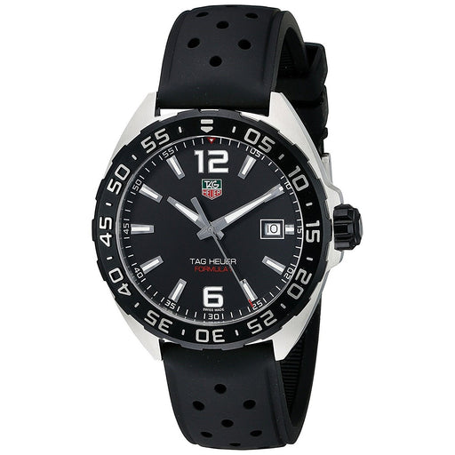 Tag Heuer Men's WAZ1110.FT8023 Formula One Black Rubber Watch