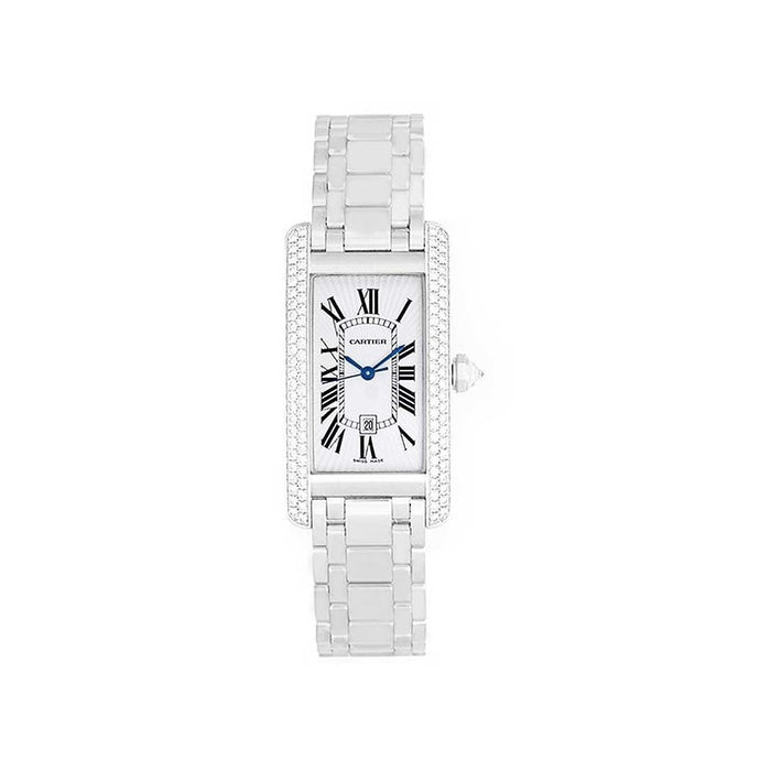 Cartier Women's WB710011 Tank Stainless Steel Watch