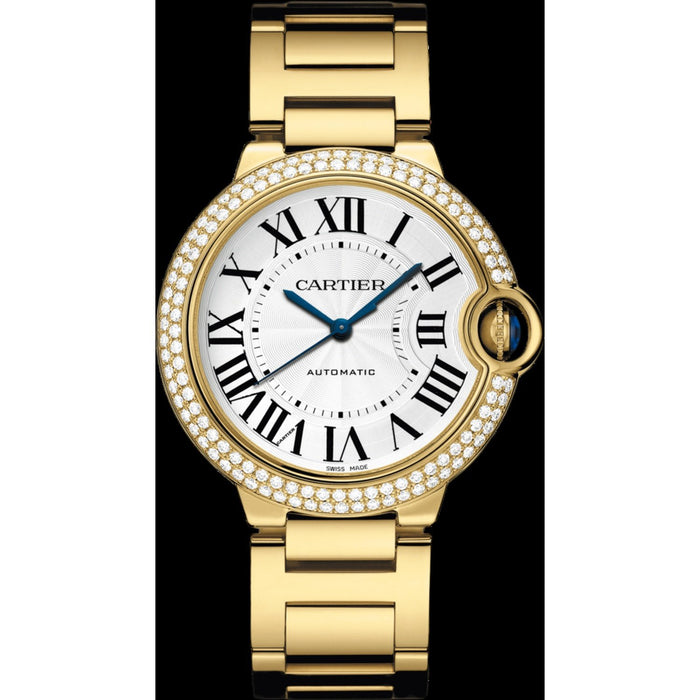 Cartier Women's WE9004Z3 Ballon Bleu Gold-Tone Stainless Steel Watch