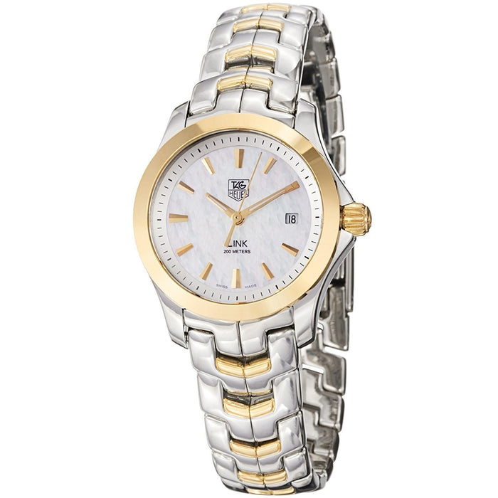 Tag Heuer Women's WJF1352.BB0581 Link 18kt Yellow Gold Two-Tone Stainless Steel and Gold Watch
