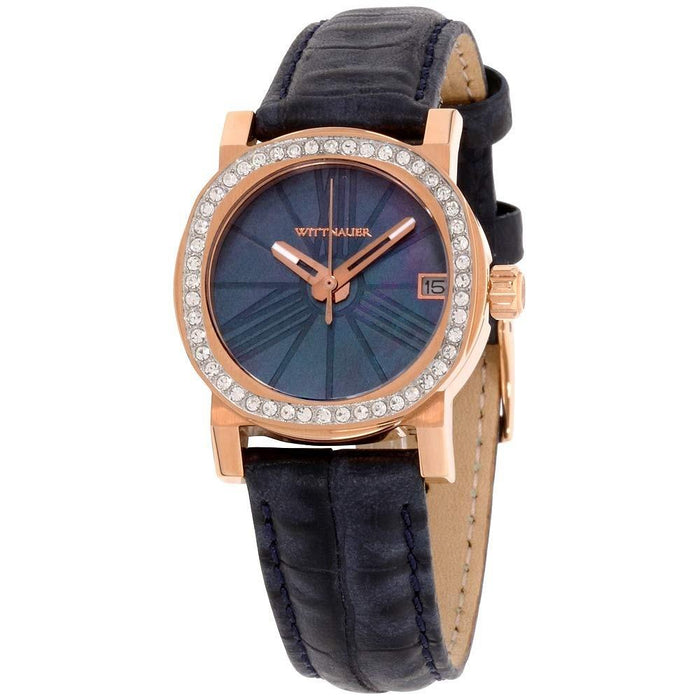 Wittnauer Women's WN2000 Adele Blue Leather Watch