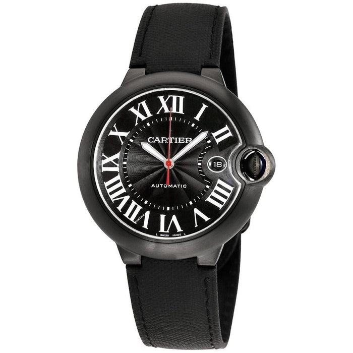 Cartier Men's WSBB0015 Ballon Bleu Automatic Black Fabric Watch