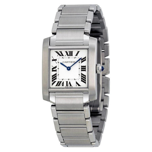 Cartier Women's WSTA0005 Tank Francaise Stainless Steel Watch