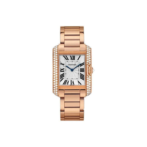 Cartier Women's WT100027 Tank Rose Gold-Tone Stainless Steel Watch