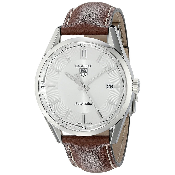 Tag Heuer Men's WV211A.FC6203 Carrera Brown Leather Watch