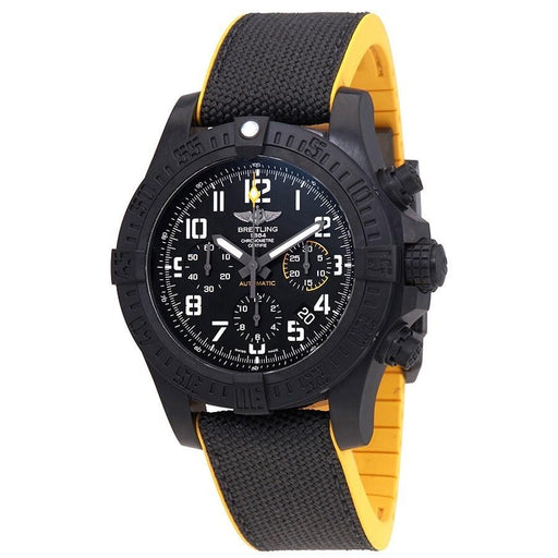 Breitling Men's XB0180E4-BF31-284S Avenger Hurricane Chronograph Two-Tone Fabric and Rubber Watch