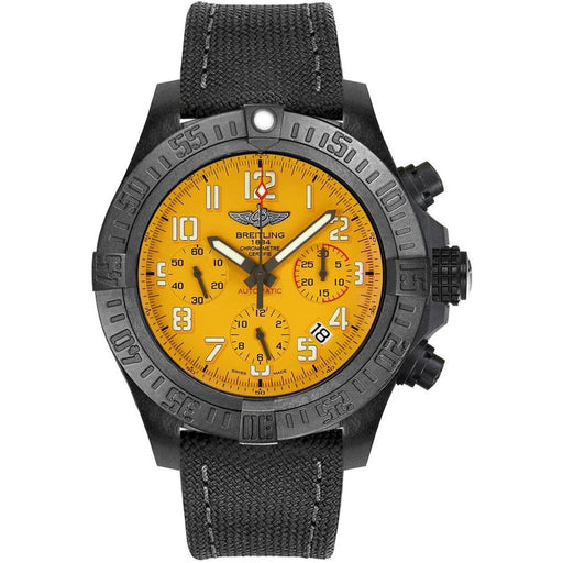 Breitling Men's XB0180E4-I534-109W Avenger Chronograph Two-Tone Fabric and Rubber Watch
