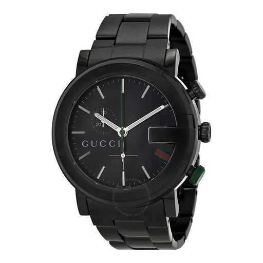 Gucci Men's YA101331 G-Chrono Chronograph Black Stainless Steel Watch
