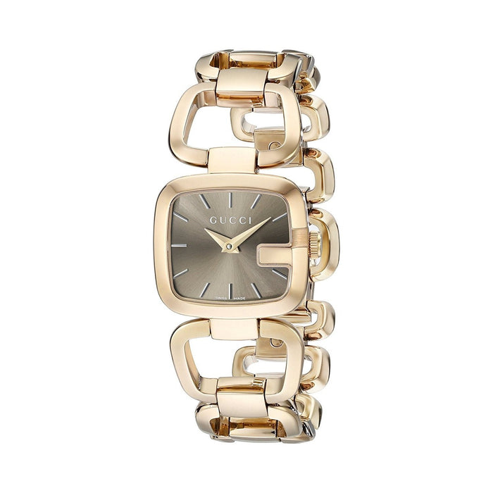 Gucci Women's YA125511 G-Gucci Gold-Tone Stainless Steel Watch