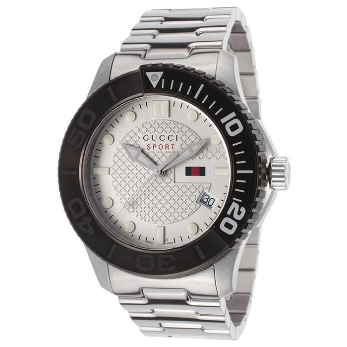 Gucci Men's YA126250 G-Timeless Stainless Steel Watch