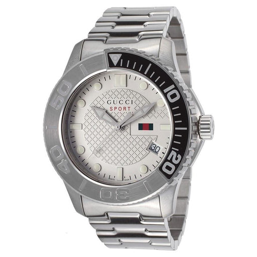 51249a3a671 Gucci Men s YA126252 G-Timeless Stainless Steel Watch