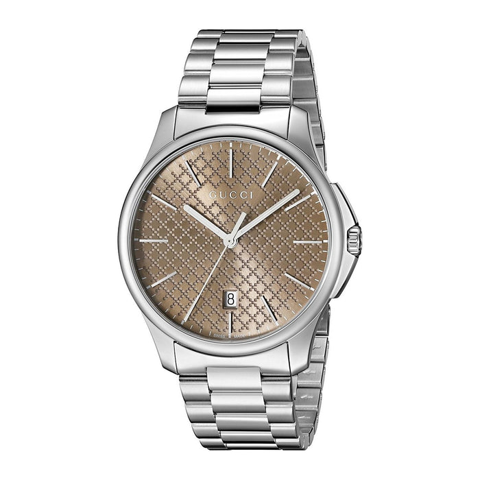 Gucci Unisex YA126317 G-Timeless Stainless Steel Watch