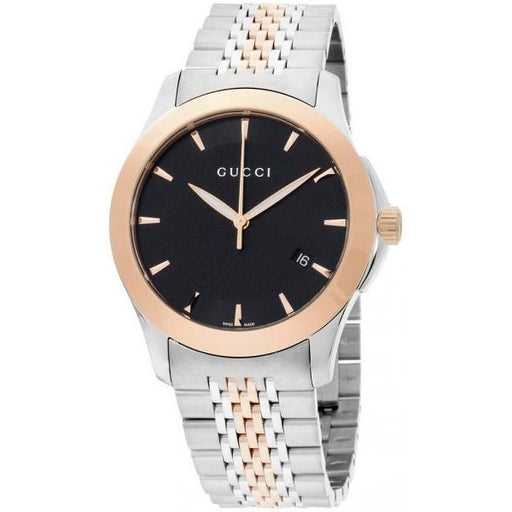 Gucci Men's YA126410 G-Timeless Two-Tone Stainless Steel Watch