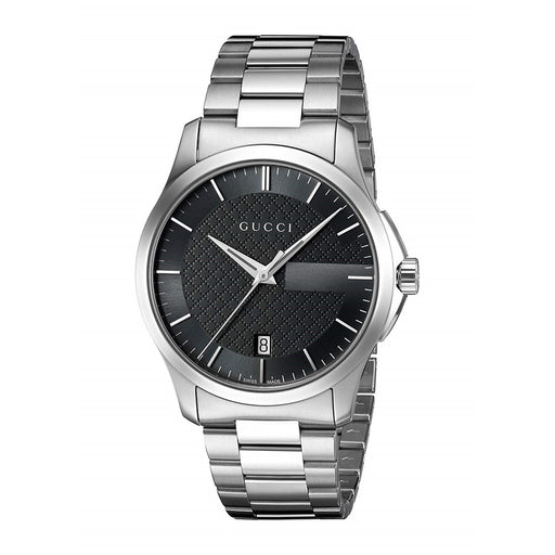 Gucci Unisex YA126457 G-Timeless Stainless Steel Watch