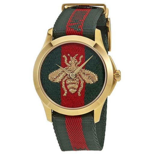 Gucci Unisex YA126487 Le Marche Des Merveilles Two-Tone Nylon Watch